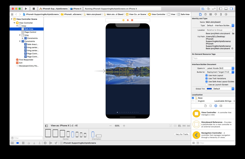 在 iPhone X 上构建你的 App – 码农头条